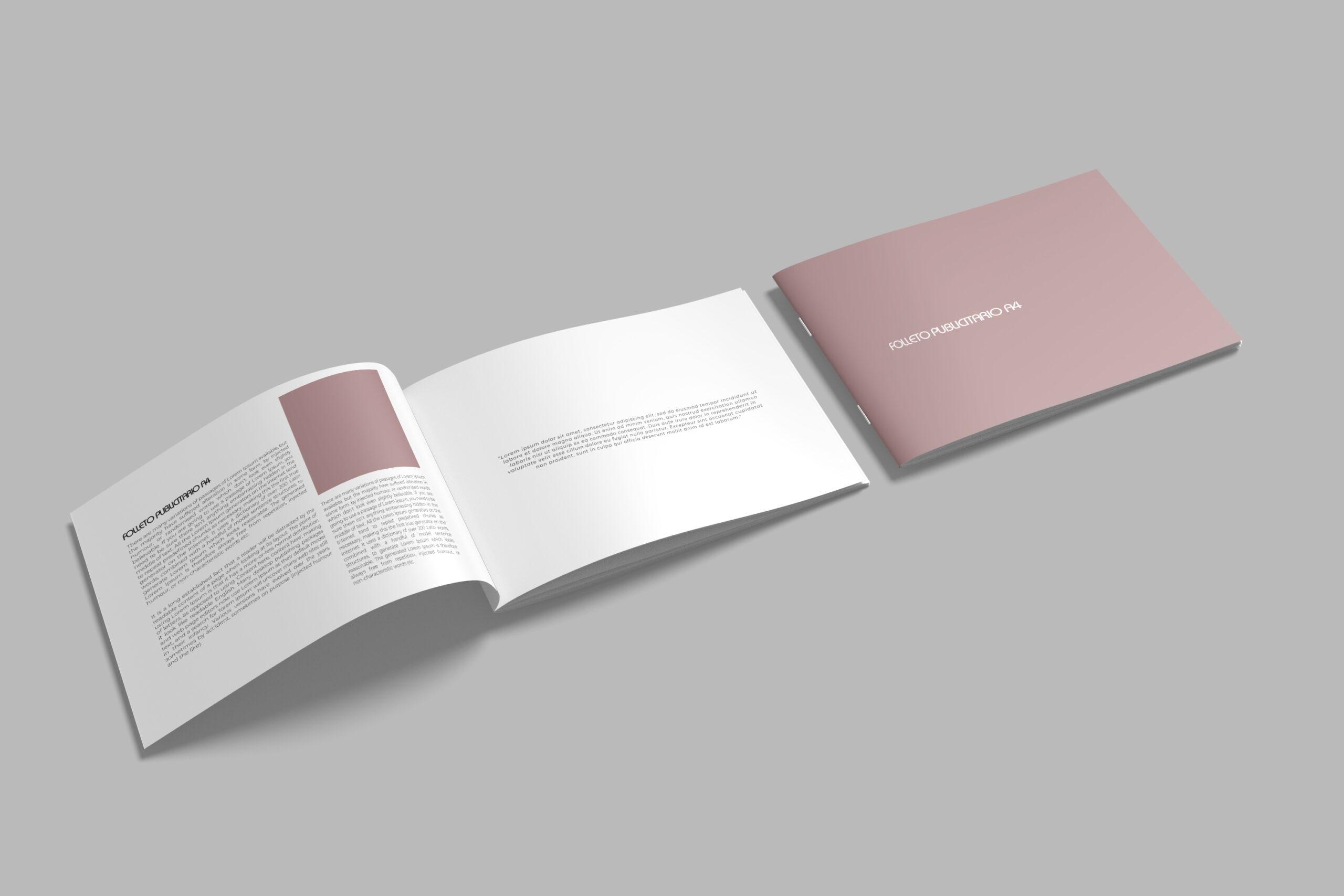 Impresión de folletos, dípticos y trípticos