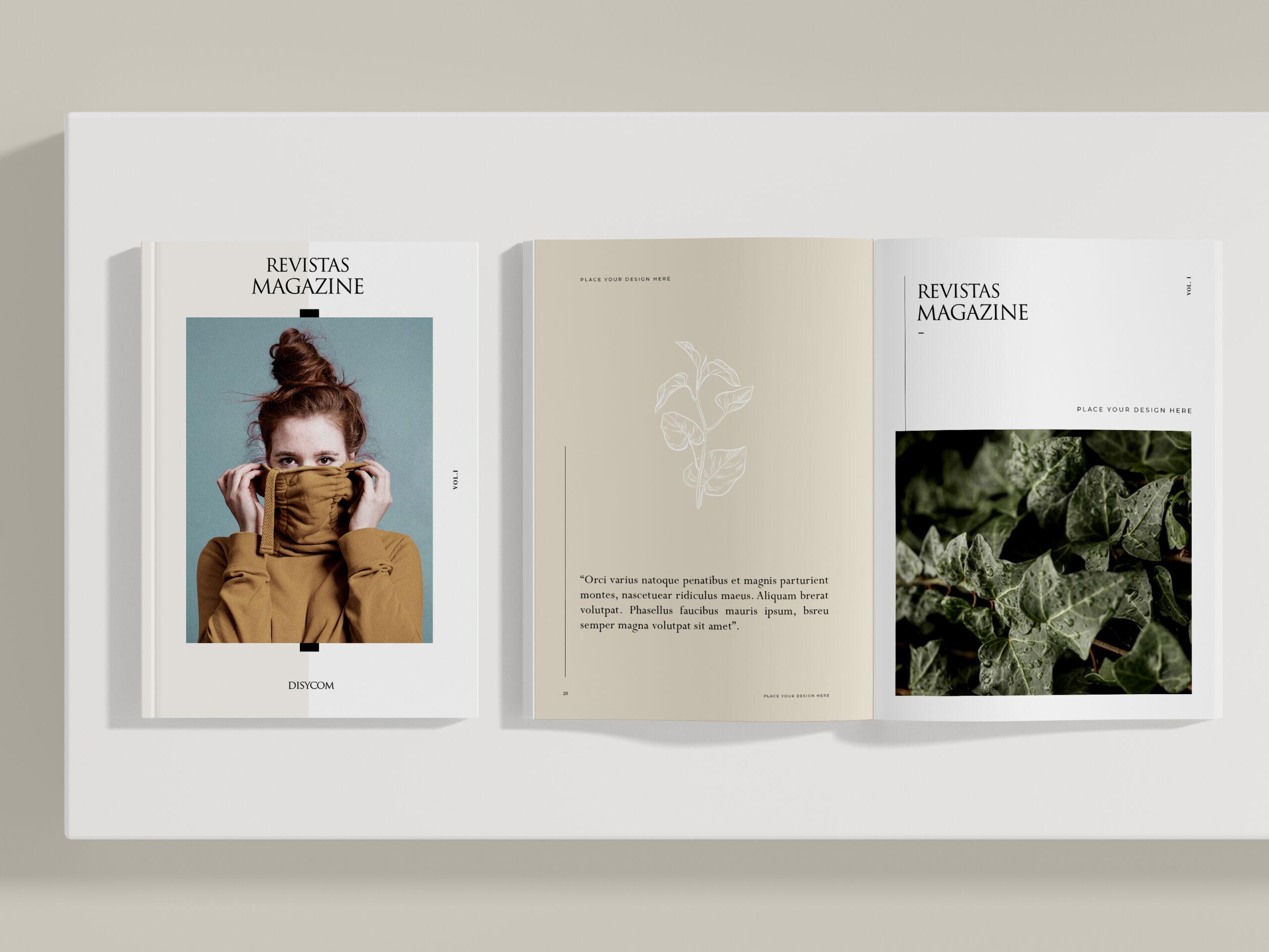 Maquetación e impresión de revistas