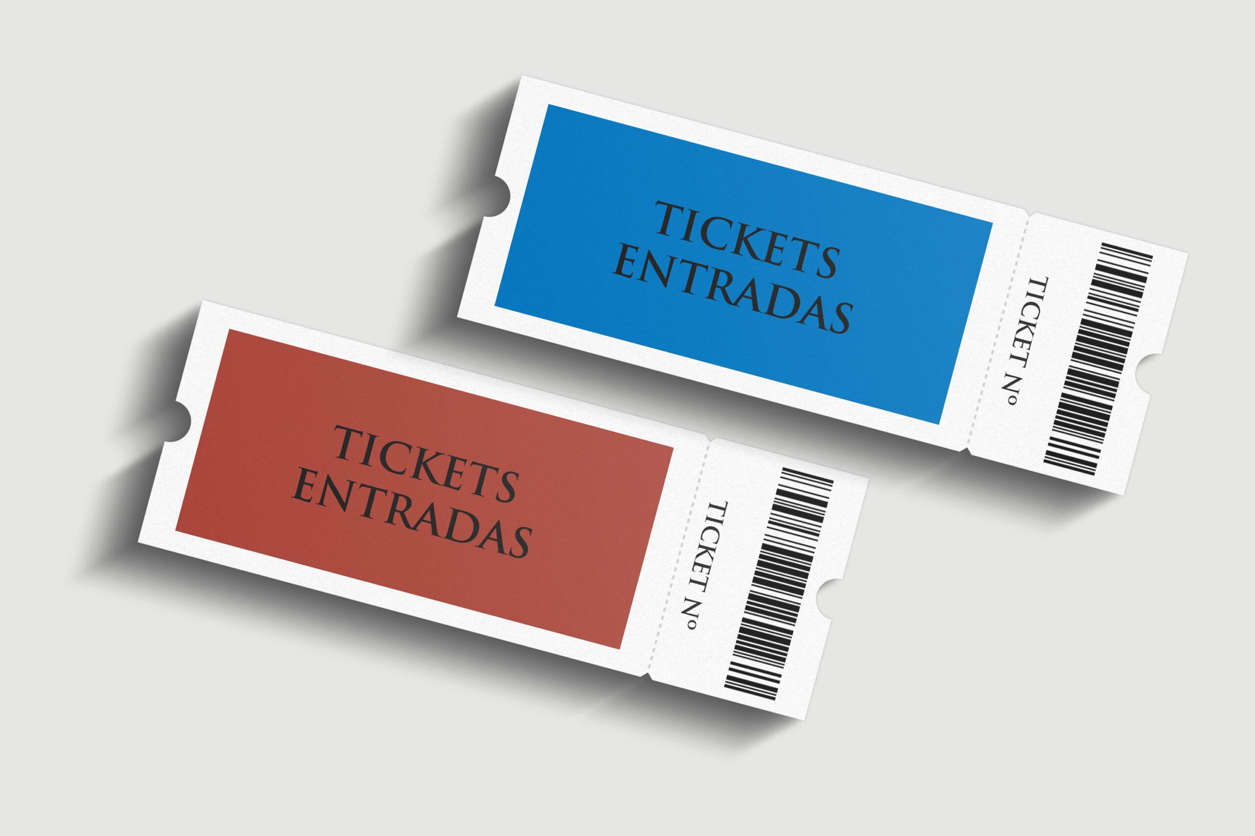 Diseño de entradas y tickets