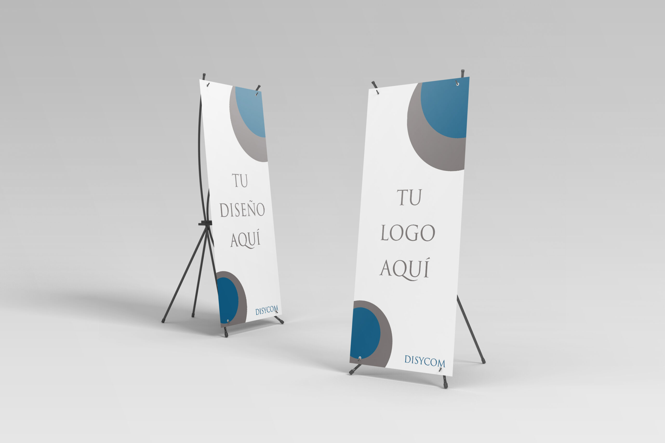 Roll-ups y X-Banners